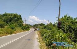 Καθαρισμός Οδικού δικτύου απο Καστρί Λουτρό έως Ρακοπόταμο